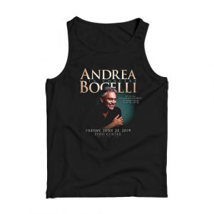 Andrea Bocelli Tank Top