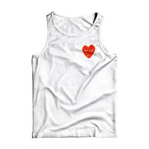 8-Bit Play CdG Love Smoking Tank Top