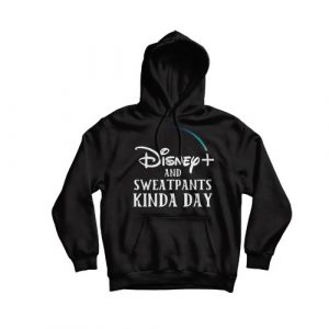 Disney Plus and Sweatpants Hoodie