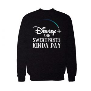 Disney Plus and Sweatpants Sweatshirt For Unisex