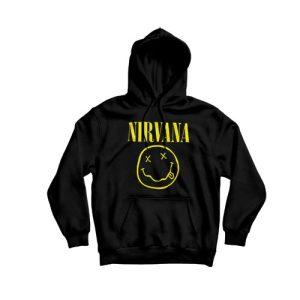 Nirvana One-Sided Smile Hoodie