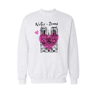 Notre Dame Sweatshirt For Unisex