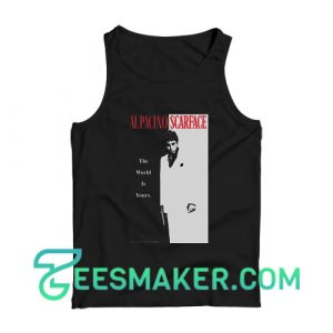 Alpacino Scarface Tank Top