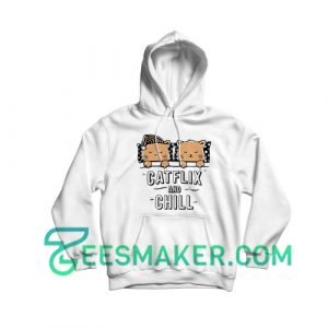 Catflix and Chill Hoodie