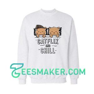 Catflix and Chill Sweatshirt