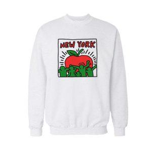 Keith Haring Graffiti New York Sweatshirt