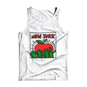 Keith Haring Graffiti New York Tank Top