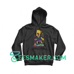 Trippy Bart Simpsons Hoodie