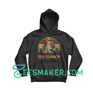4th Of July Ben Drankin Hoodie Independence Day Size S - 3XL