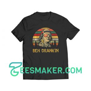 4th Of July Ben Drankin T-Shirt Independence Day Size S - 3XL