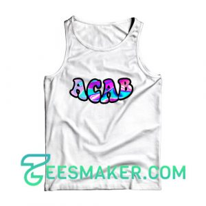 ACAB BLM Tank Top All Cops Are Bastards Size S - 2XL