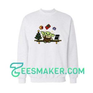 Baby Yoda Gift Christmas Sweatshirt