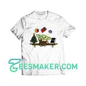Baby Yoda Gift Christmas T-Shirt