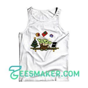 Baby Yoda Gift Christmas Tank Top