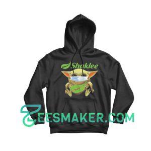 Baby Yoda Mask Hug Shaklee Hoodie Star Wars Size S - 3XL