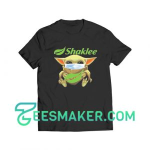 Baby Yoda Mask Hug Shaklee T-Shirt Star Wars Size S - 3XL