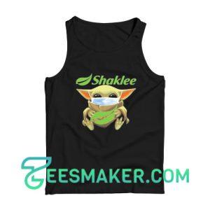 Baby Yoda Mask Hug Shaklee Tank Top Star Wars Size S - 2XL