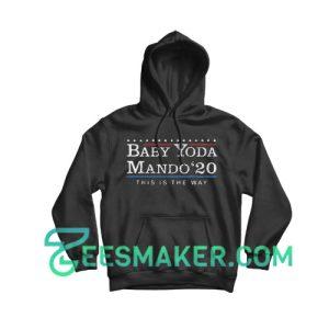 Baby Yoda The Way 2020 President Hoodie Star Wars Size S - 3XL