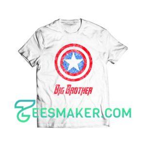 Captain America Big Brother T-Shirt Marvel Comics Size S - 3XL