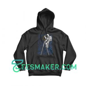 SpaceX Doodle Hoodie Astronaut NASA Art Size S - 3XL