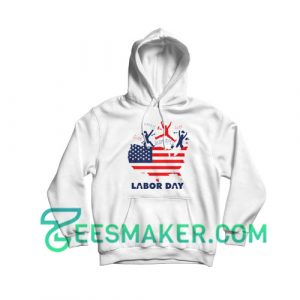 American Labor Movement Hoodie Happy Labor Day 2020 Size S - 3XL