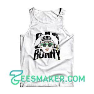 Bad Bunny Bad Tank Top American Rapper Size S - 2XL