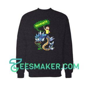 Rick And Morty Dracarys Sweatshirt Cartoon Network Size S - 3XL