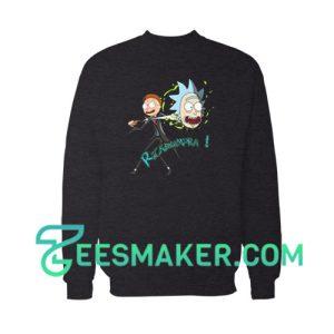 Ricktusempra Rick and Morty Sweatshirt Cartoon Network Size S - 3XL