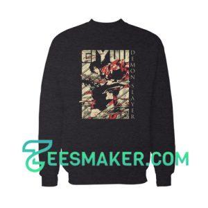 Demon Slayer Giyuu Sweatshirt For Unisex