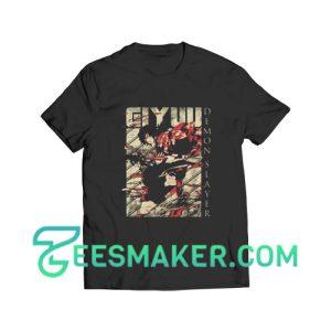 Demon Slayer Giyuu T-Shirt For Unisex