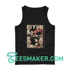 Demon Slayer Giyuu Tank Top Men's Softstyle Tank Top Unisex