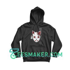 Demon Slayer Mask Hoodie For Unisex