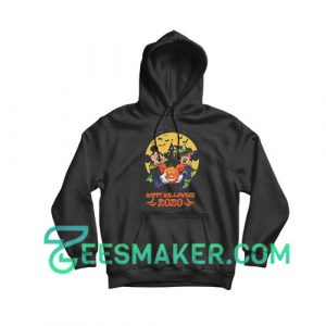 Disney Halloween Mickey and Minnie Hoodie For Unisex