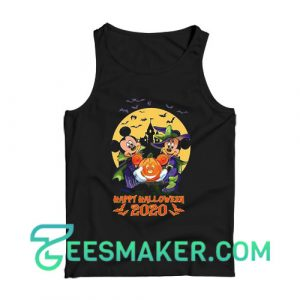 Disney Halloween Mickey and Minnie Tank Top For Unisex