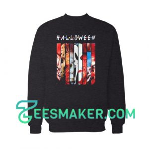 Halloween Horror Theme Friends Sweatshirt For Unisex
