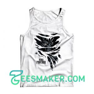 Ripped Black Panther Tank Top For Unisex