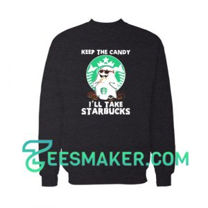 Ghost Keep The Candy Sweatshirt For Unisex