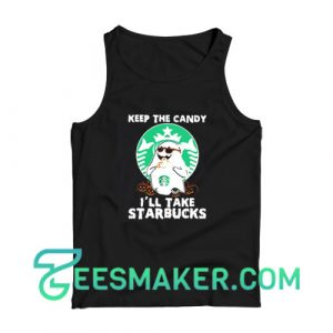 Ghost Keep The Candy Tank Top For Unisex