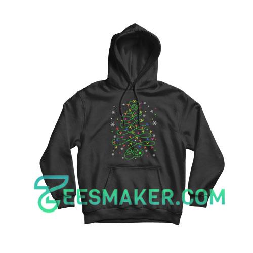 Mickey Christmas Tree Hoodie For Unisex