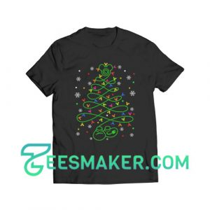 Mickey Christmas Tree T-Shirt For Unisex