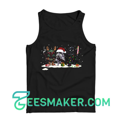 Star Wars Funny Christmas Tank Top For Unisex