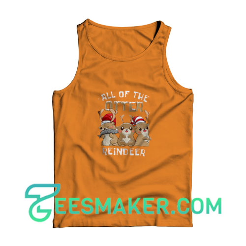 All-Reindeer-Tank-Top-Orange