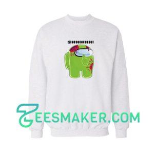 Among-Us-Lime-Sweatshirt