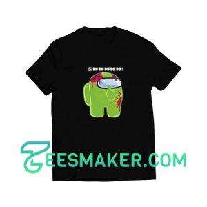 Among-Us-Lime-T-Shirt-Black