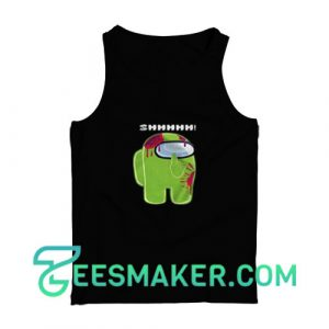 Among-Us-Lime-Tank-Top-Black