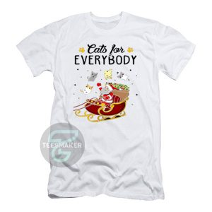 Cats-For-Everybody-Christmas-T-Shirt