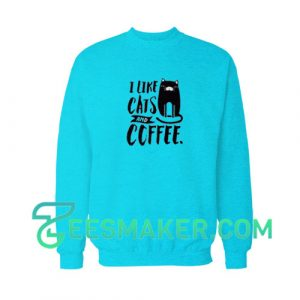 Cats-and-Coffee-Sweatshirt-Blue