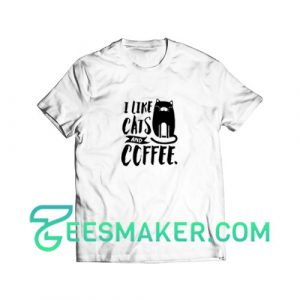 Cats-and-Coffee-T-Shirt