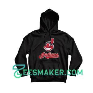 Cleveland-Indians-Hoodie-Black