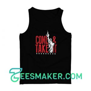 Come-And-Take-It-Tank-Top-Black